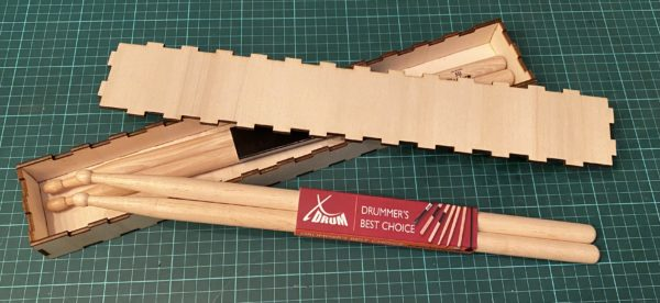 Box für Drumsticks